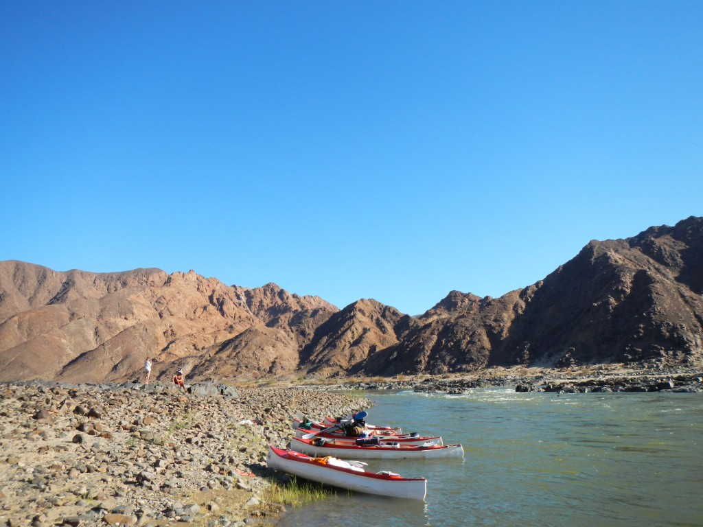 Geology, Richtersveld, Orange River
