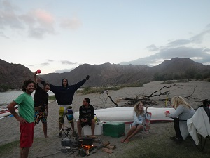 travelling Namibia, touring south Africa, canoeing, Namibia accommodation